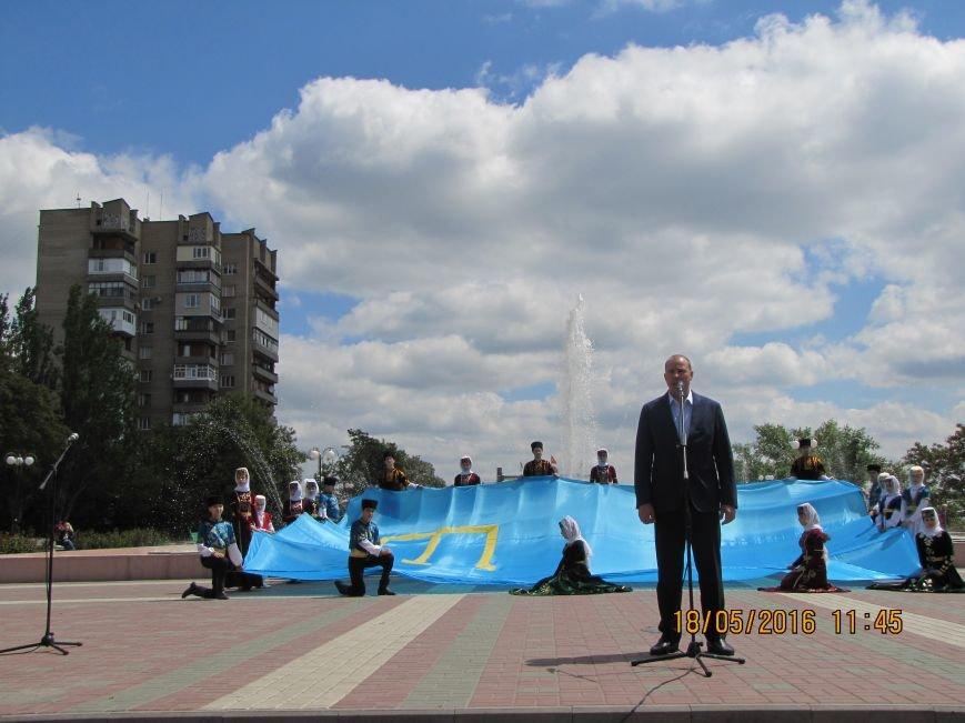 Мелитопольцы помнят о черном дне в истории крымско-татарского народа, фото-1