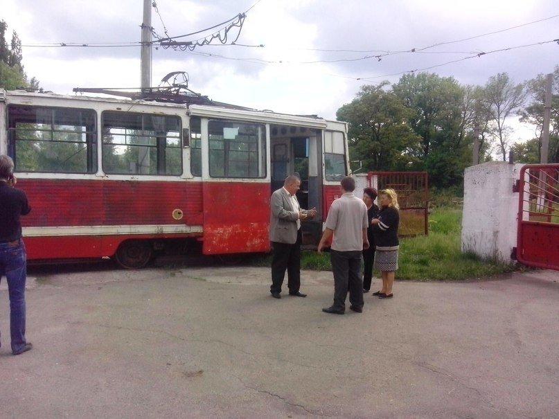 Хорошие новости: в Авдеевке испытали альтернативный способ движения трамвая (ФОТО), фото-1