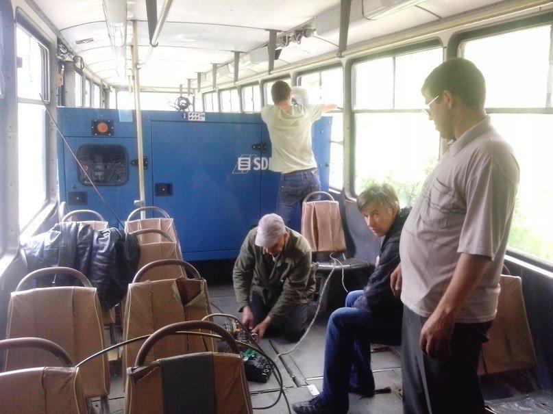 Хорошие новости: в Авдеевке испытали альтернативный способ движения трамвая (ФОТО), фото-2