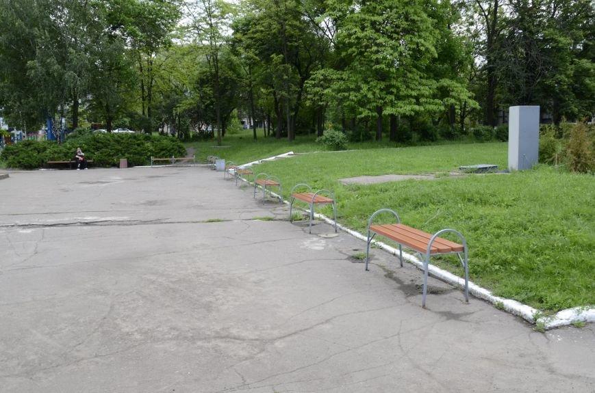 Краматорский Донмет благоустраивает город, фото-1