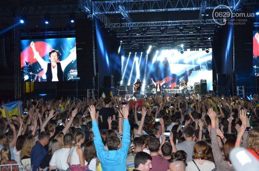 Вчера в Мариуполе с успехом прошел концерт знаменитой украинской группы «Океан Эльзы» (ФОТО), фото-7