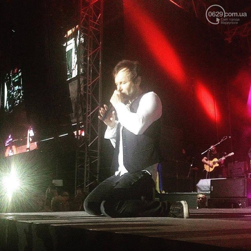Вчера в Мариуполе с успехом прошел концерт знаменитой украинской группы «Океан Эльзы» (ФОТО), фото-1