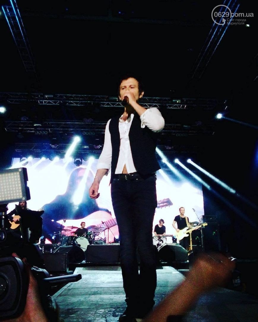Вчера в Мариуполе с успехом прошел концерт знаменитой украинской группы «Океан Эльзы» (ФОТО), фото-2