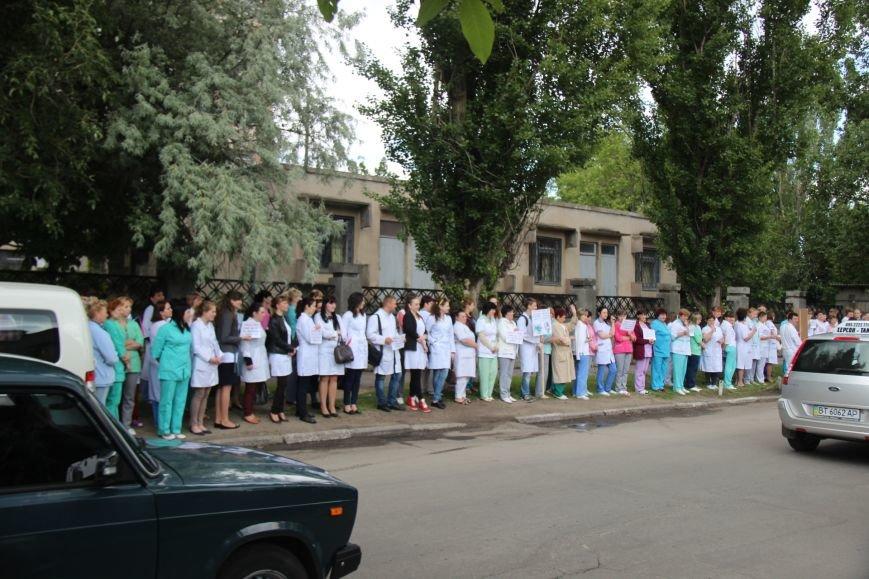 Херсонские врачи присоединились к Всеукраинской Неделе безопасности дорожного движения (фото), фото-1