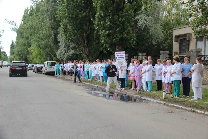 Херсонские врачи присоединились к Всеукраинской Неделе безопасности дорожного движения (фото), фото-4