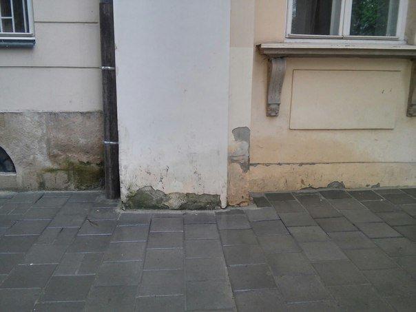 Львів'яни вимагають провести ремонт фасадів будинку, в якому розташований театр імені Марії Заньковецької (ФОТО), фото-5
