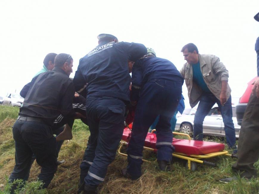 Машина превратилась в груду металла после аварии в Ростовской области, фото-2