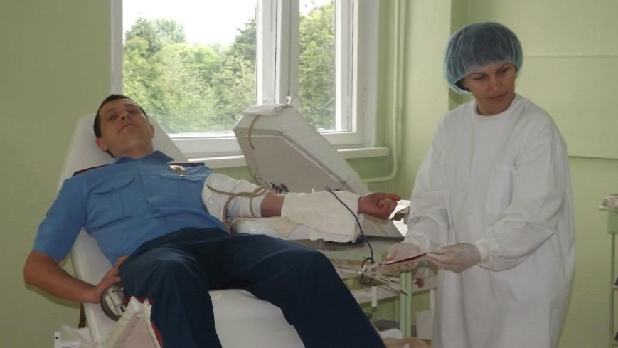 Павлоградские полицейские стали донорами крови, фото-1