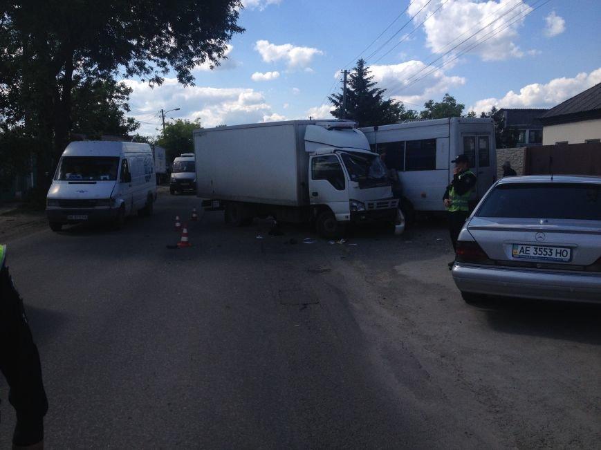 На Передовой грузовик столкнулся с маршруткой: есть пострадавшие (ФОТО), фото-4