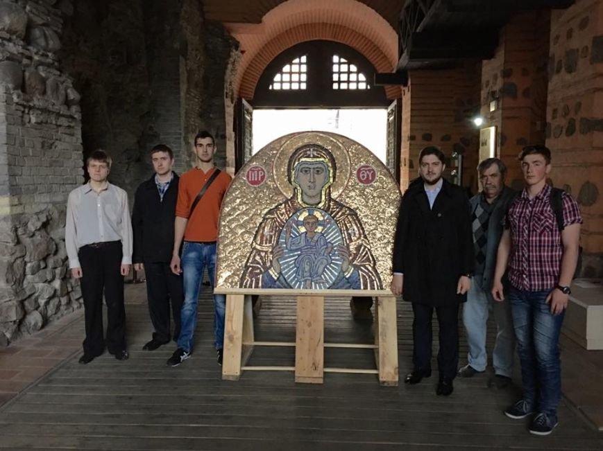 На Золотых воротах установят мозаику иконы (ФОТО), фото-1
