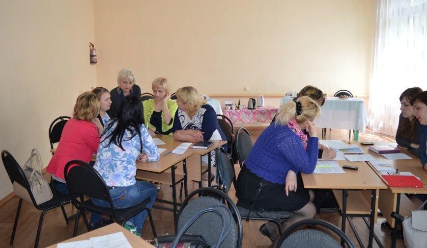 На базе школы №6 г.Доброполье состоялся городской семинар-практикум, фото-2