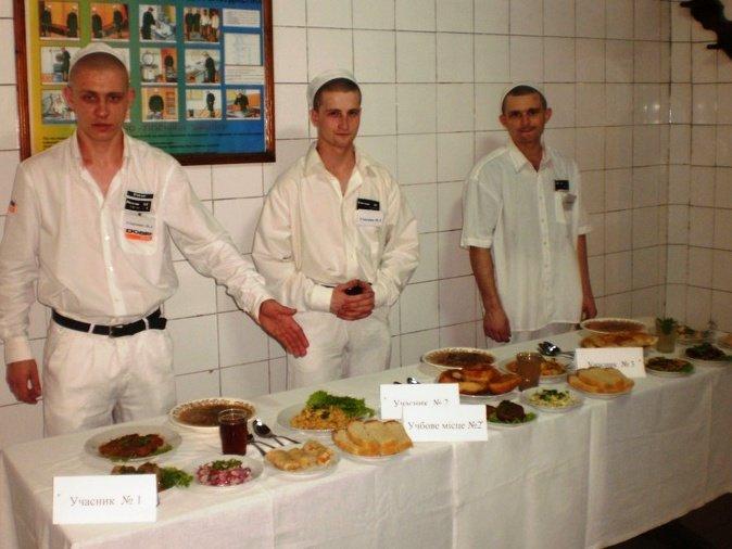 В Бердянской исправвителной колонии опредлелилсь с лучшим поваром, фото-2