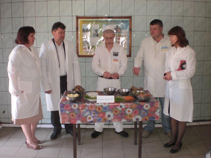 В Бердянской исправвителной колонии опредлелилсь с лучшим поваром, фото-1