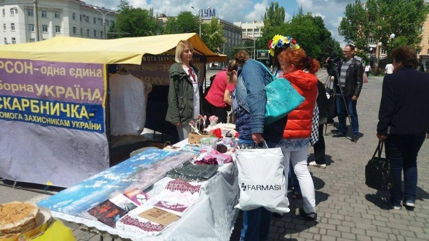 В Херсоне проходит благотворительная ярмарка в поддержку Валентины Крицак (фоторепортаж), фото-1