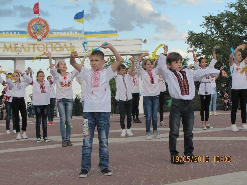 Мелитопольцы вышли на парад в вышиванках, фото-4