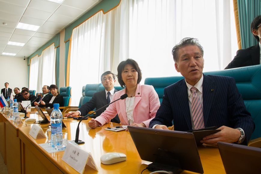 В областной Думе Сахалина принимали парламентариев с Хоккайдо, фото-4
