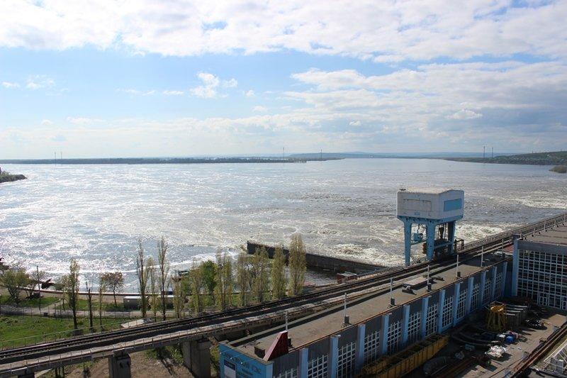 Саратовская ГЭС - половодье-2016_1