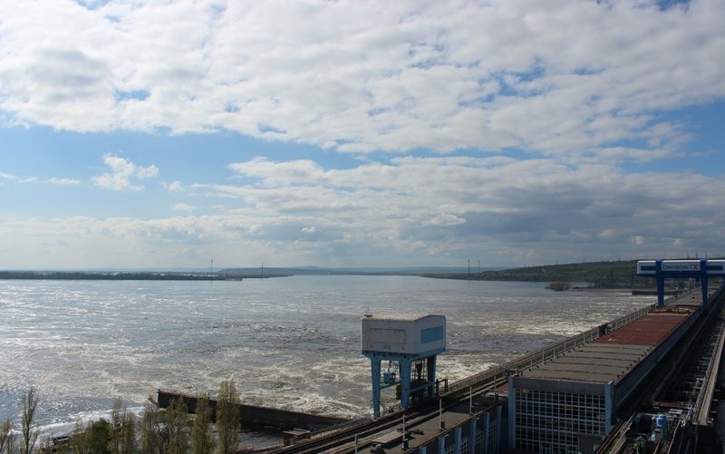 Саратовская ГЭС - половодье-2016_2