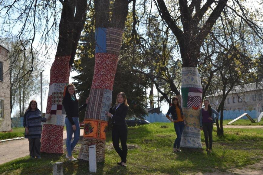 «Платья» для деревьев сшили в Полоцком районе (+ фото), фото-5