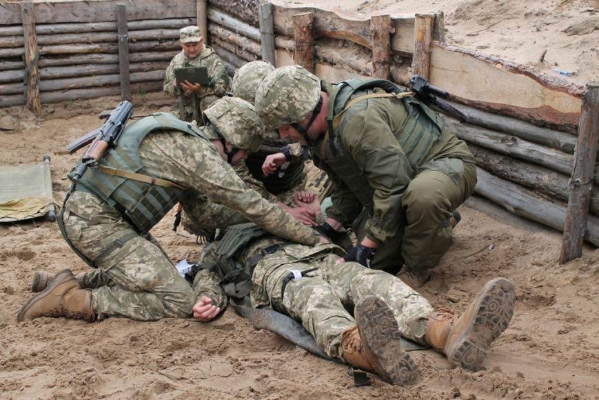 В Черниговской области военные привыкали к стандартам НАТО (фото), фото-2
