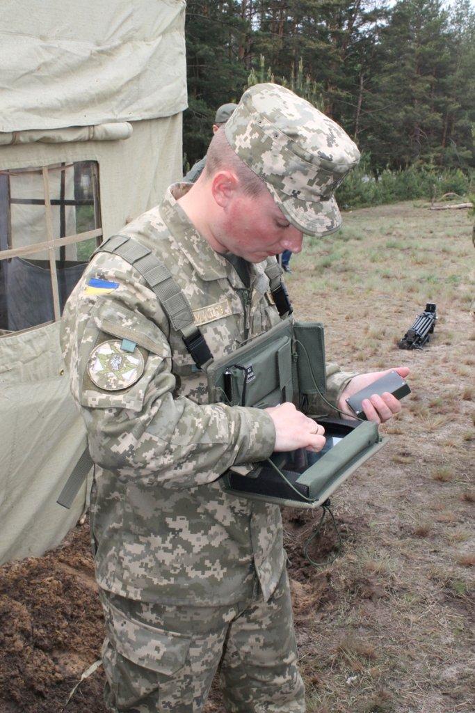 В Черниговской области военные привыкали к стандартам НАТО (фото), фото-1