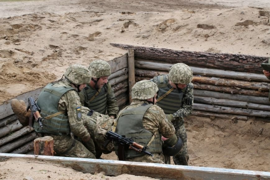 В Черниговской области военные привыкали к стандартам НАТО (фото), фото-6