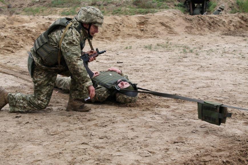 В Черниговской области военные привыкали к стандартам НАТО (фото), фото-5