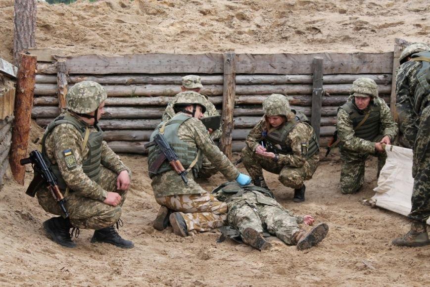 В Черниговской области военные привыкали к стандартам НАТО (фото), фото-11