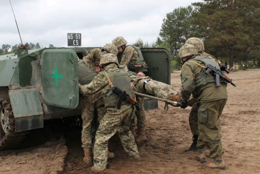 В Черниговской области военные привыкали к стандартам НАТО (фото), фото-7