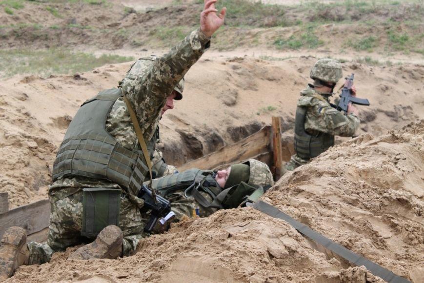 В Черниговской области военные привыкали к стандартам НАТО (фото), фото-4