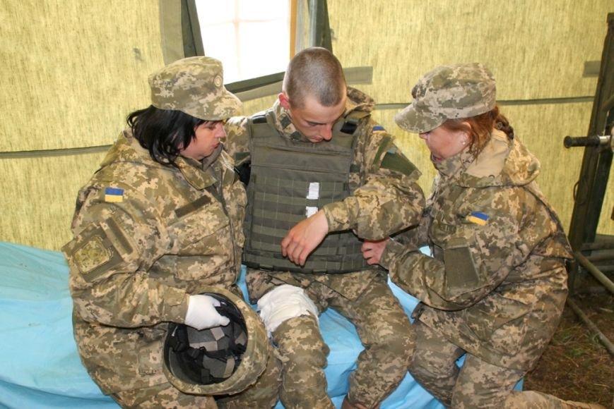 В Черниговской области военные привыкали к стандартам НАТО (фото), фото-9