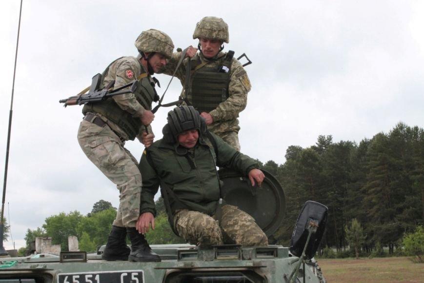 В Черниговской области военные привыкали к стандартам НАТО (фото), фото-10