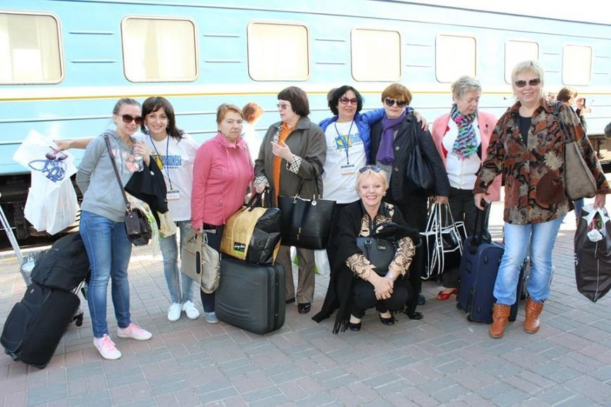 В Херсоне утром встретили первых гостей фестиваля «Мельпомена Таврии» (фото), фото-3