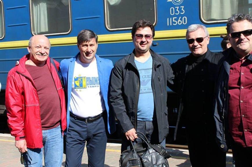 В Херсоне утром встретили первых гостей фестиваля «Мельпомена Таврии» (фото), фото-2