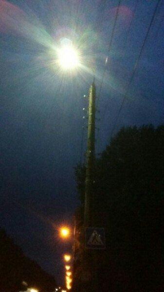 На Конотопських вулицях встановлюють сучасні LED ліхтарі, фото-1