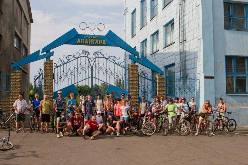 «Велопробег с препятствиями» - как живут добропольские велолюбители, фото-1