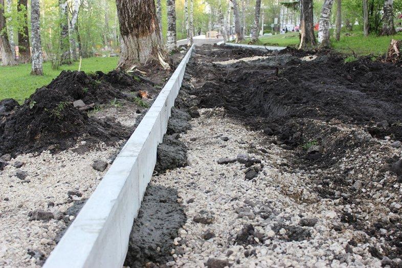 В Кировском парке Сыктывкара идёт ремонт, фото-3
