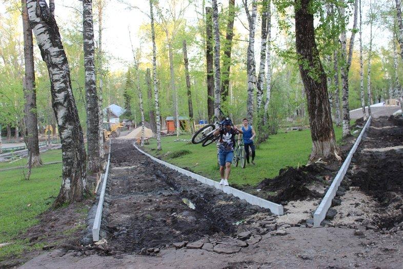 В Кировском парке Сыктывкара идёт ремонт, фото-2