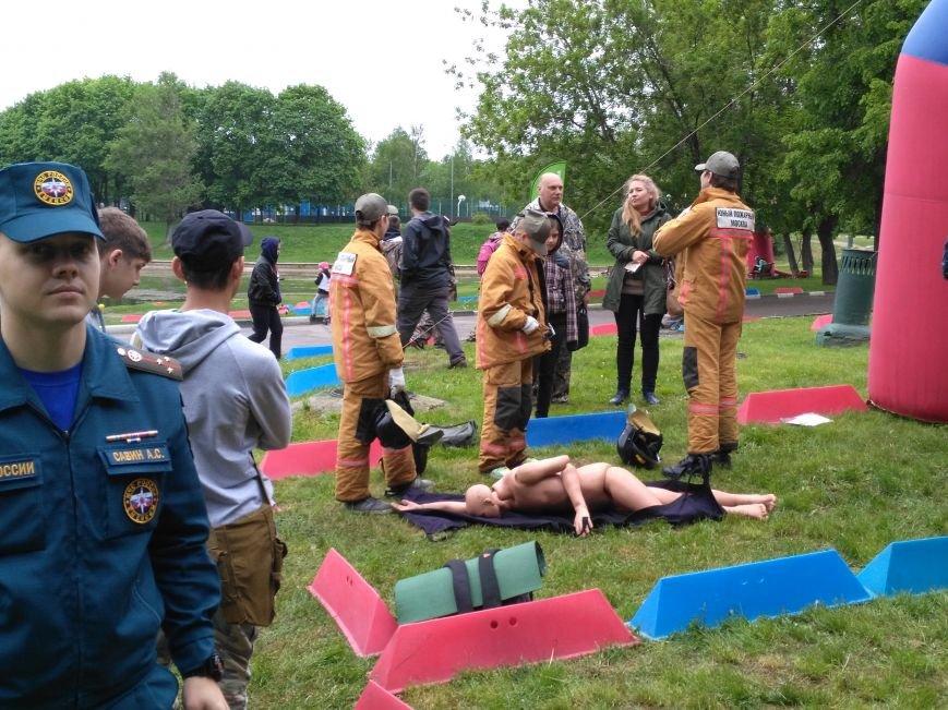 Троицкие школьники приняли участие в мероприятии по выживанию, фото-4