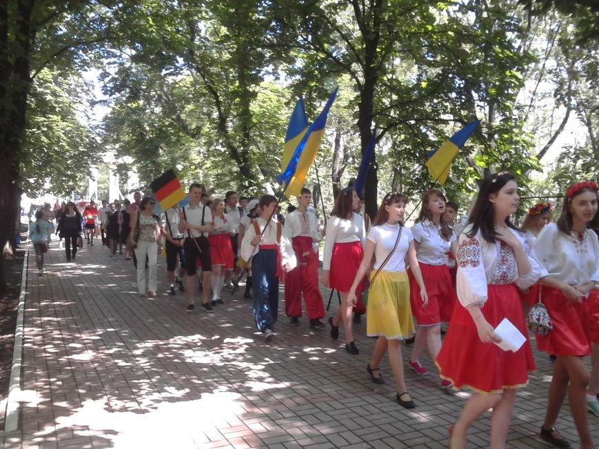 В Мариуполе прошёл детский парад нации (ФОТО), фото-11
