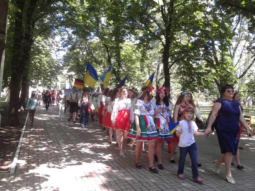 В Мариуполе прошёл детский парад нации (ФОТО), фото-10