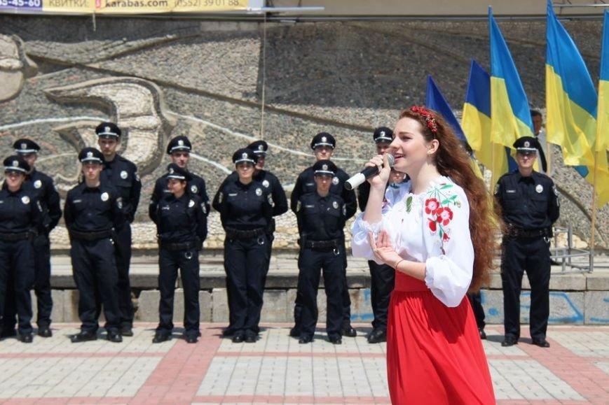 Сегодня в Херсоне патрульная полиция отчиталась перед горожанами о 100 днях своей работы (фото), фото-3