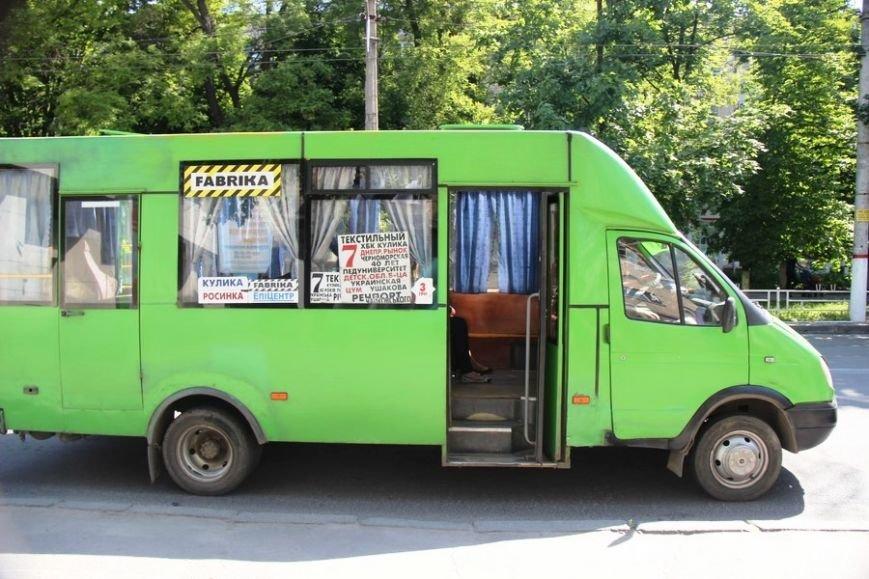 В херсонских маршрутках появились автоинформаторы (фото), фото-2