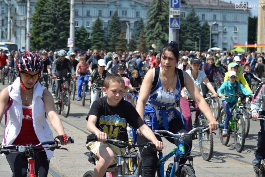 В Каменском состоялся общегородской Велодень, фото-12