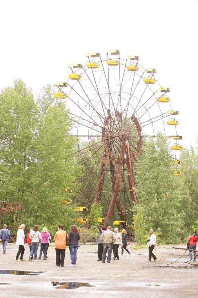 """Чернігівські журналісти та активісти відвідали основні місця зйомок фільму """"Чорнобиль. Зона майбутнього», фото-1"""