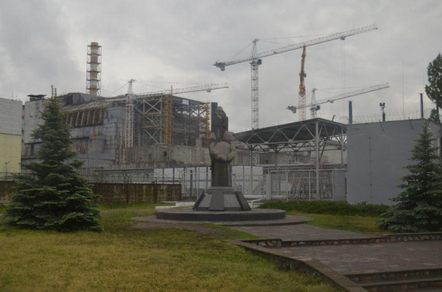 """Чернігівські журналісти та активісти відвідали основні місця зйомок фільму """"Чорнобиль. Зона майбутнього», фото-5"""