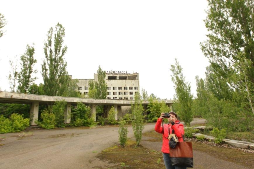 """Чернігівські журналісти та активісти відвідали основні місця зйомок фільму """"Чорнобиль. Зона майбутнього», фото-3"""