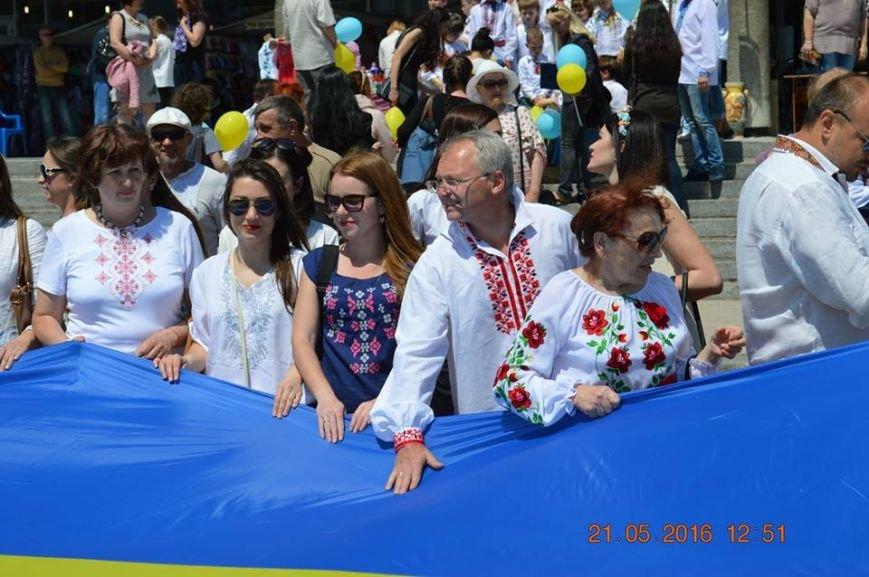 В Бердянске отметили День вышиванки шествием по городу (ФОТОРЕПОРТАЖ), фото-14