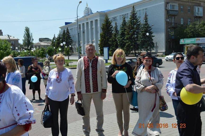 В Бердянске отметили День вышиванки шествием по городу (ФОТОРЕПОРТАЖ), фото-8