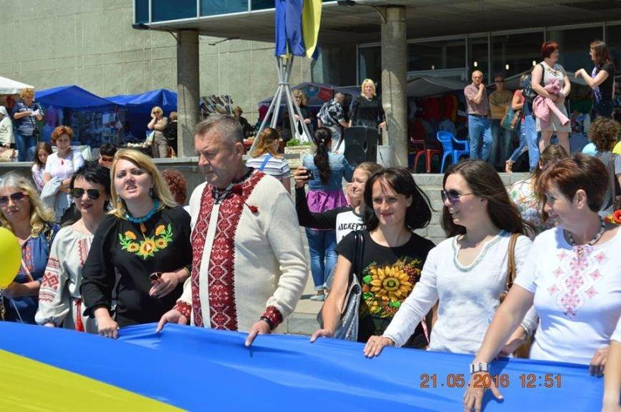 В Бердянске отметили День вышиванки шествием по городу (ФОТОРЕПОРТАЖ), фото-11